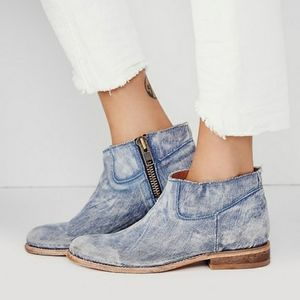 Matisse Duke Demin Ankle Booties